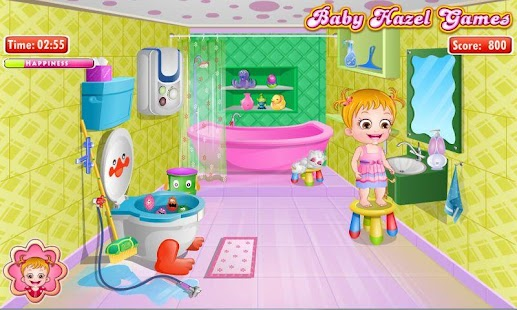 Baby Hazel Bathroom Hygiene- screenshot thumbnail