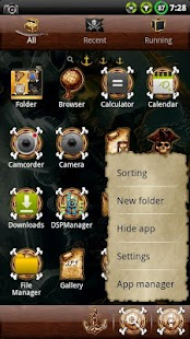 Pirate GO Launcher EX Theme - screenshot thumbnail