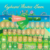 Keyboard Flowers Green