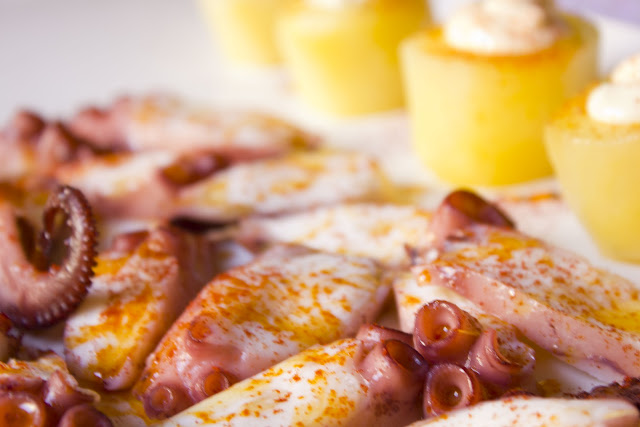 Pulpo Feria (Galician Octopus) with Potatoes and Alioli Recipe