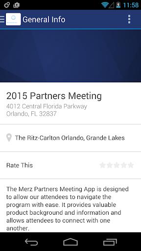 【免費旅遊App】Merz Partners Meeting 2014-APP點子
