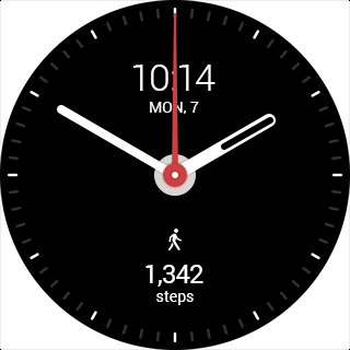 ARed WatchFace + StepFit