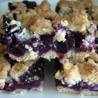 Blueberry Crumb Bars