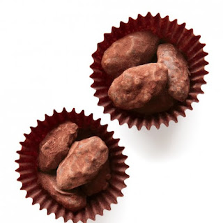 Chocolate-Covered Almond Pralines.