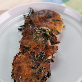 Parmesan Kale & Potato Cakes