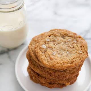 Salted Brown Sugar Toffee Cookies.