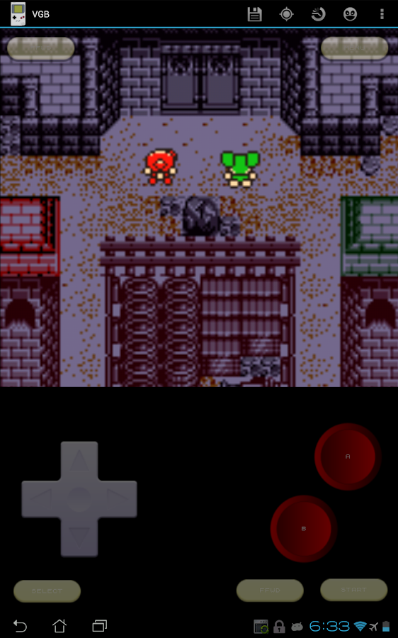 VGB - GameBoy (GBC) Emulator - screenshot