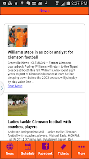 Football News Clemson Edition- screenshot thumbnail