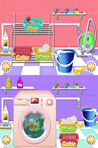Wash Laundry Games for kids  screenshots 2