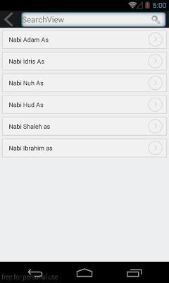 Kisah Teladan 25 Nabi & Rasul - screenshot