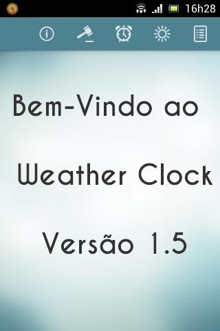 Weather Clock - Alarm - ToDo