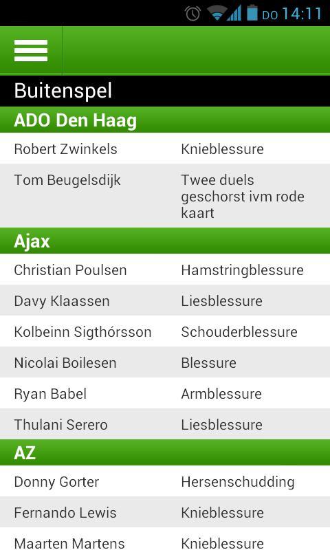 FCUpdate.nl - screenshot