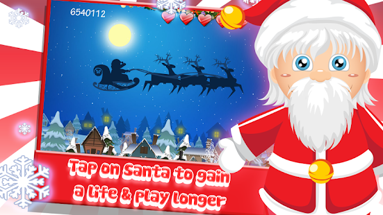 Santa Floating Gifts HD- screenshot thumbnail