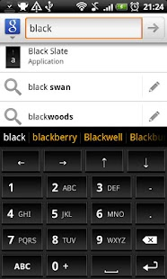 Black Slate - Keyboard Theme - screenshot thumbnail