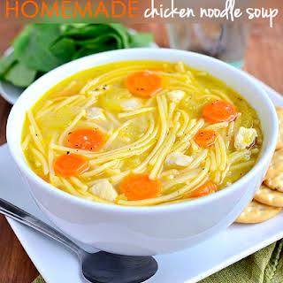 Homemade Chicken Noodle Soup (Gluten-Free Friendly!).