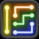 Neon Flow Free mobile app icon