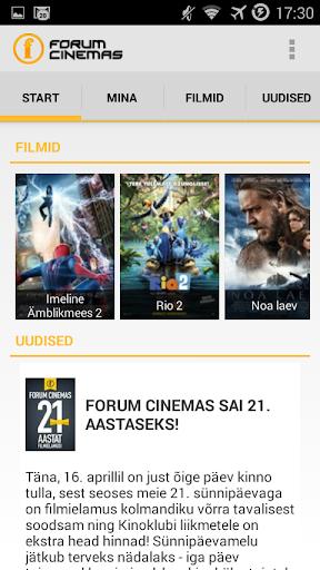Forum Cinemas Estonia