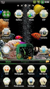Aquarium GO Launcher EX Theme- screenshot thumbnail