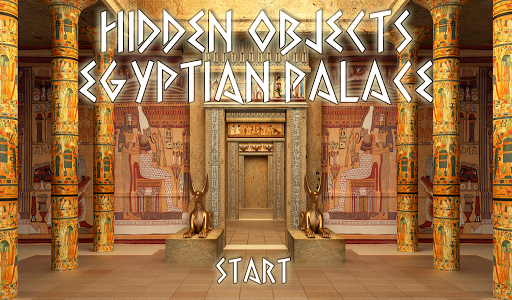 Hidden Objects Egyptian Palace