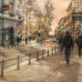 by Dunja Dretvić - City,  Street & Park  Street Scenes