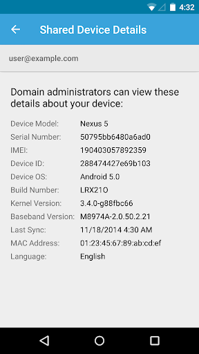 Google Apps Device Policy 12.14.01 screenshots 1