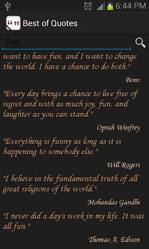 Best Quotes App