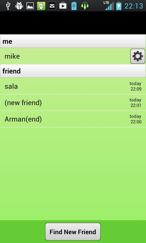 chatroid (random chat)- screenshot