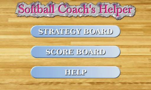 Softball Clipboard Scoreboard