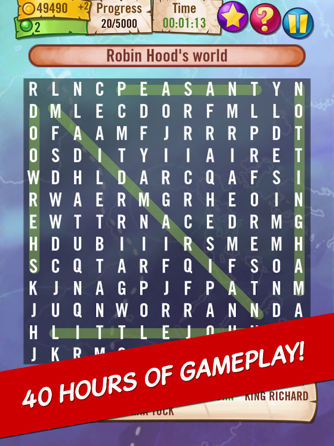 Word Search : World's Biggest - screenshot
