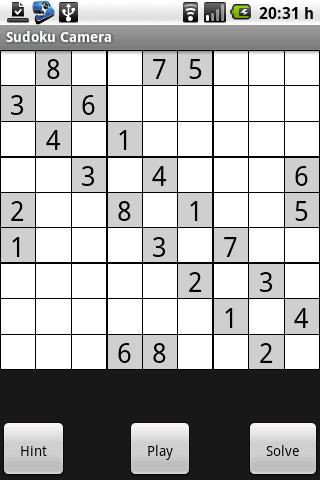 Sudoku Camera - screenshot