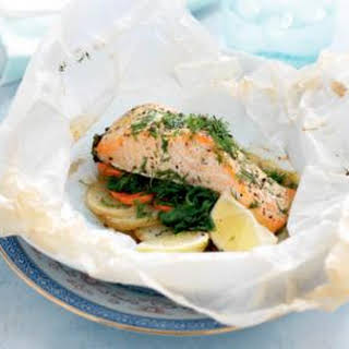Salmon Spinach Potatoes Recipes.
