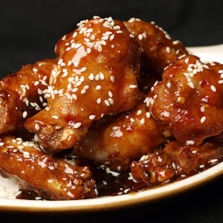 Sesame Chicken Wings.