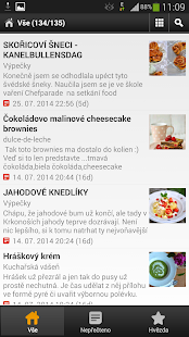 Food-blogs cz- screenshot thumbnail