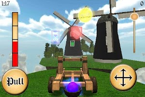 Screenshot of Sky Catapult 3D