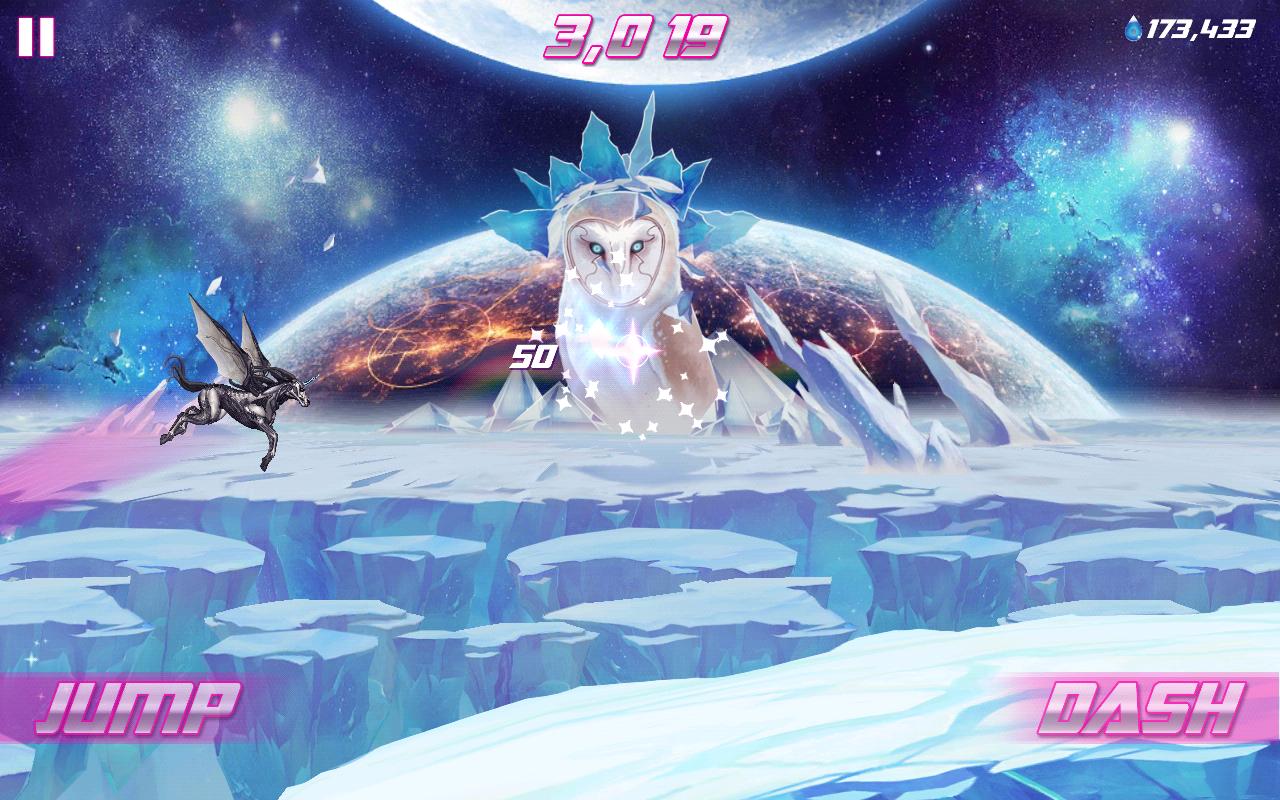 Robot Unicorn Attack 2 screenshot #3