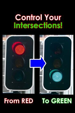 Traffic Light Changer Prank - screenshot
