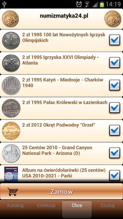 Numizmatyka24- screenshot