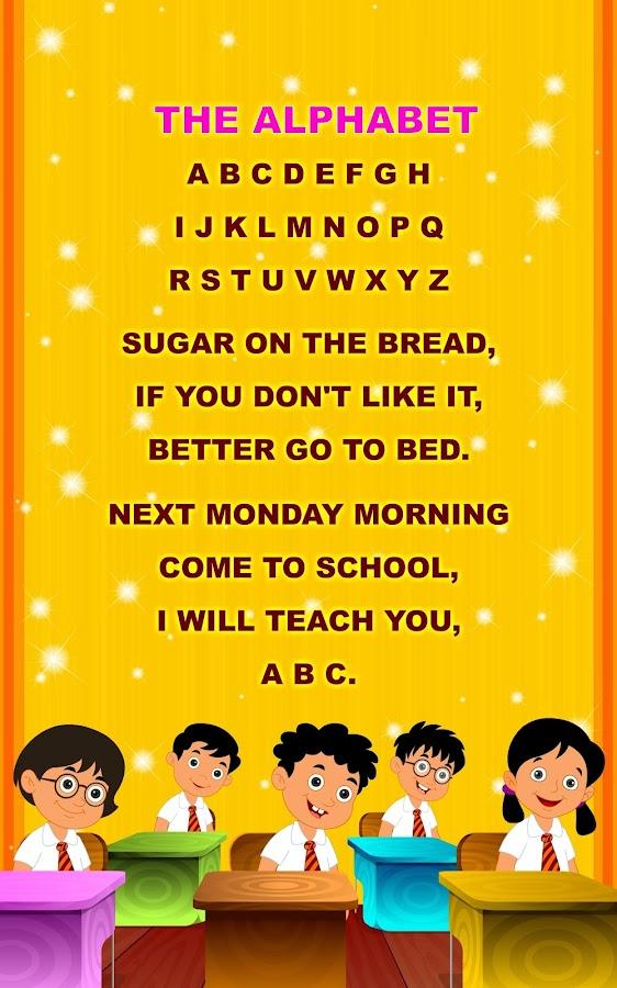 Kids Nursery Rhymes Lyrics 02 - Android Apps on Google Play