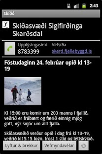 Skíðó- screenshot thumbnail