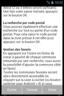 Codes Postaux - screenshot thumbnail