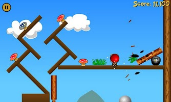 Screenshot of Angry Apes