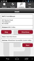 Screenshot of Park Bank Mobile Banking