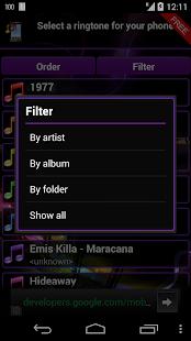 Ringtone Manager Pro FREE - screenshot thumbnail