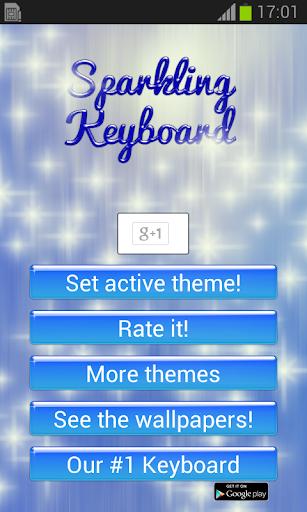 Sparkling Keyboard