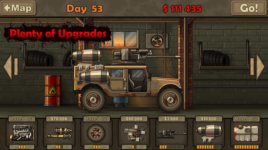 Screenshots of Earn to Die Lite for iPhone