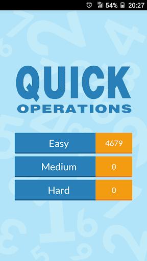 Quick Operations