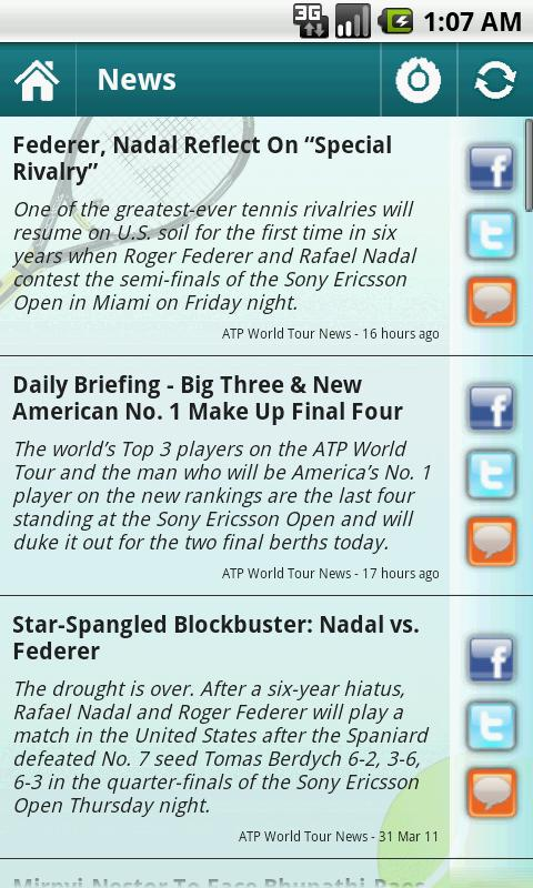 Sports Eye - Tennis - screenshot