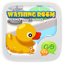 GOSMS WashingRoom Pop ThemeEX icon