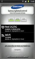 Screenshot of Samsung Data Control HE