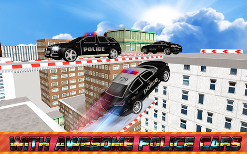 Police Roof Car Jump & Stunts screenshot